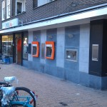 wand ING bank amsterdam voor