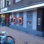 wand ING bank amsterdam voor